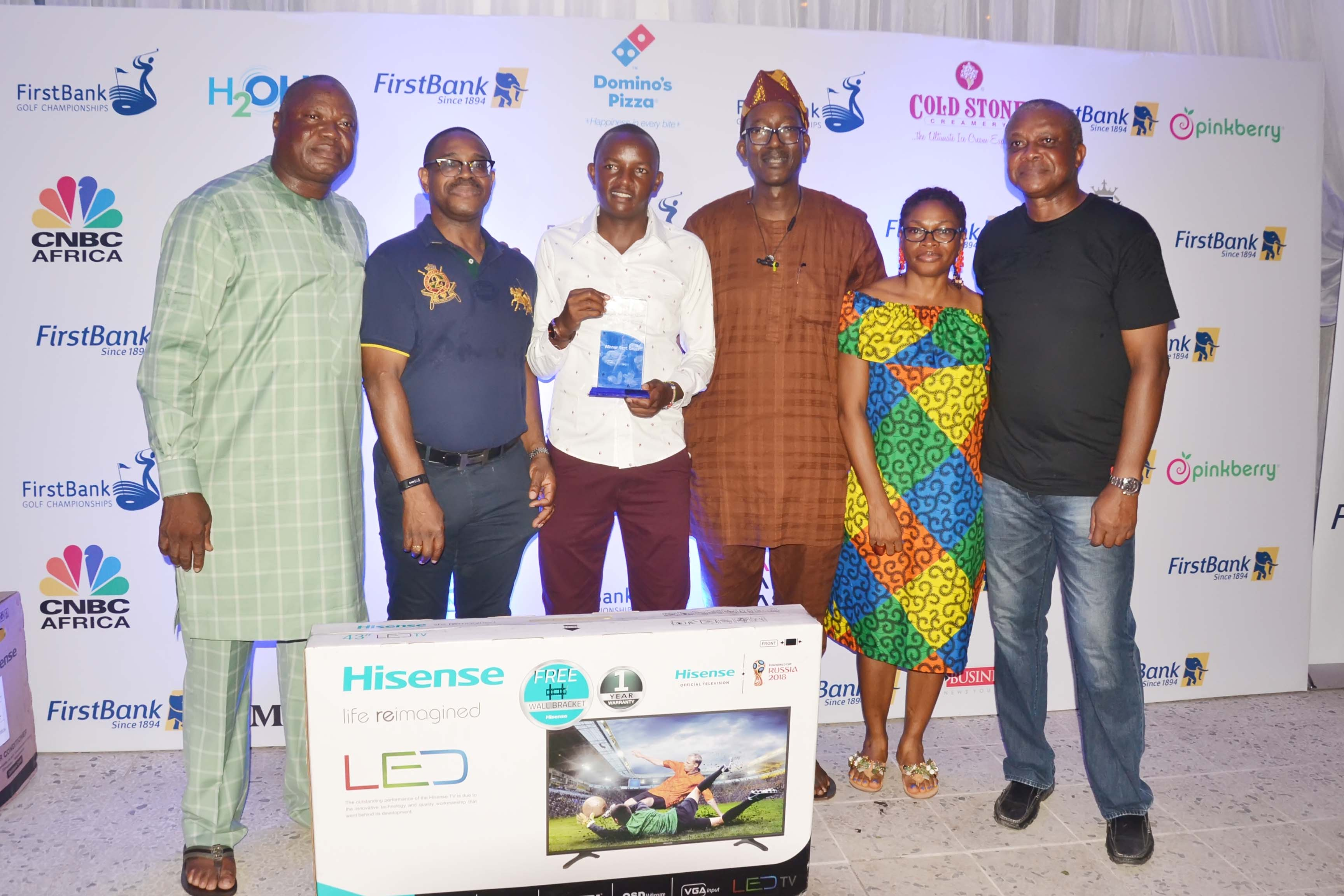 Njoroge wins 57th First Bank Lagos amateur Golf open