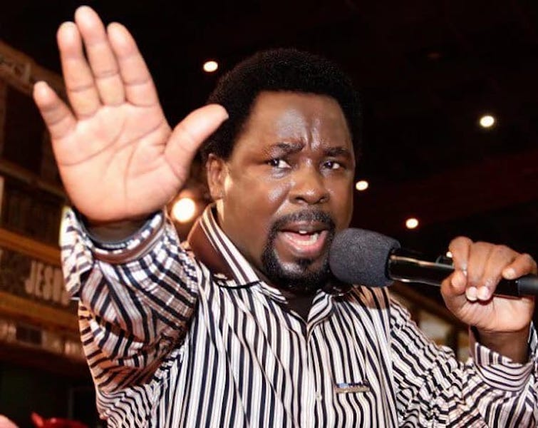 TB Joshua drops message of hope for post-coronavirus era