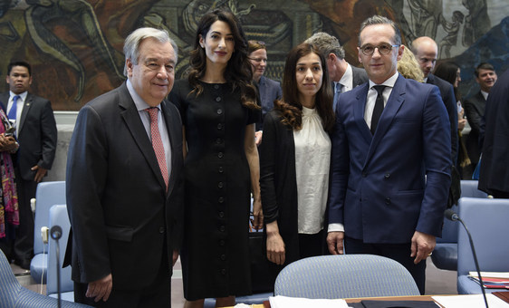 UN chief urges Security Council to protect women's rights