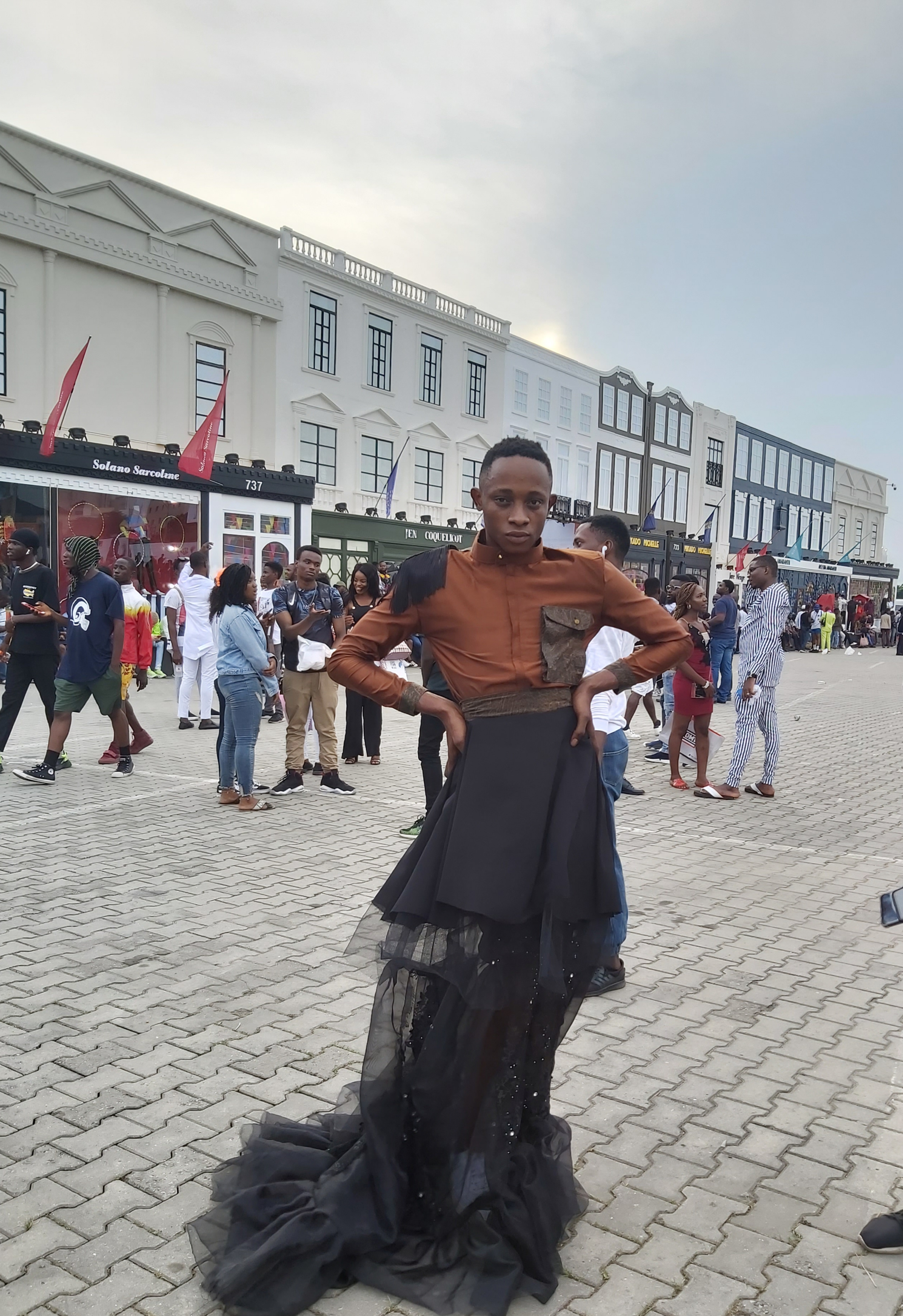 Captivating street styles at GTBank Fashion Weekend