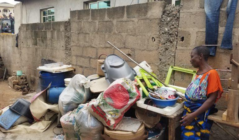 Lagos State government demolishes houses despite COVID-19 lockdown