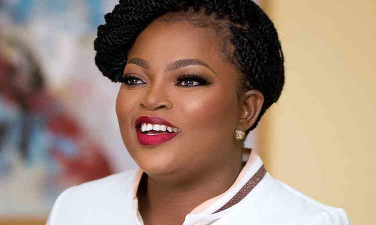 Revealed! Video where Nollywood actress, Funke Akindele begs for forgiveness