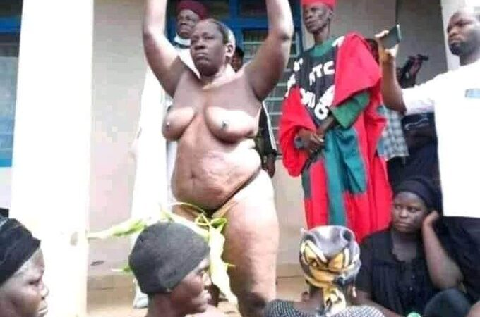 Women strip naked in protest against endless killings in kaduna