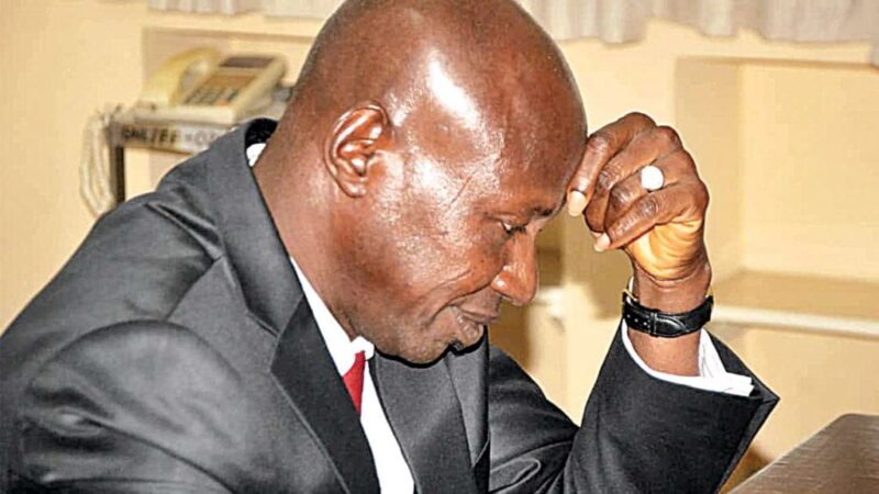 Why Magu chose to sleep in cell