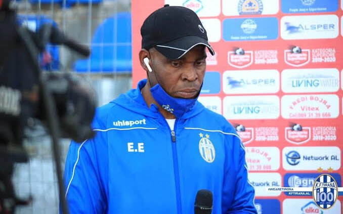 Egbo emerges first Nigerian coach to win European League title
