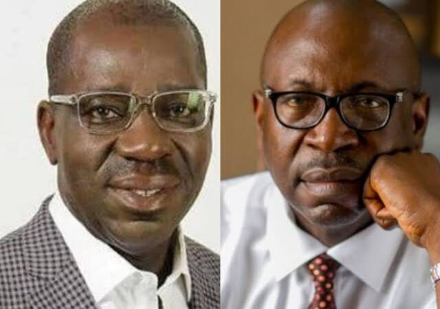 Again, Obaseki defeats Ize-Iyamu after swapping political parties twice