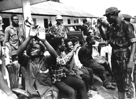 History today: Asaba massacre October 7, 1967