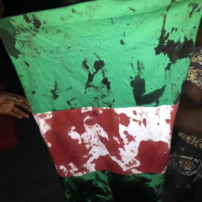 Genocide: Nigerian soldiers kill unarmed #EndSARS protesters, injure others at Lekki (Videos)