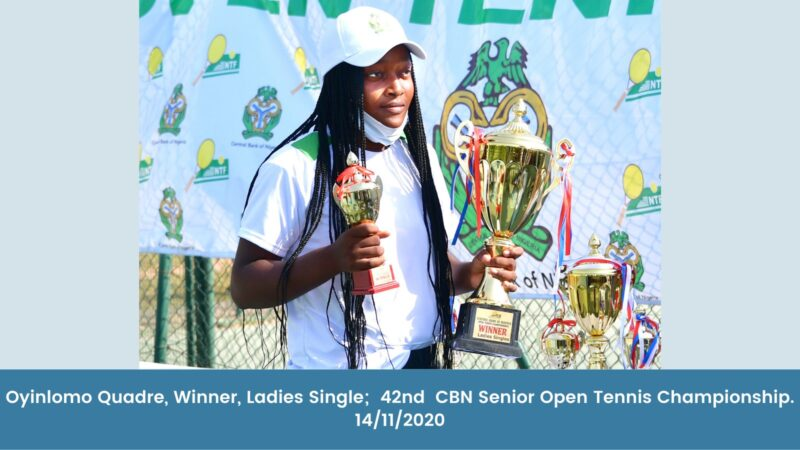 CBN celebrates winners of 42nd Senior Open Tennis Championship (Photos)