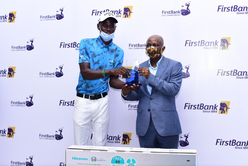 Amateur golfer, Tajudeen wins 59th First bank Lagos Open Golf Championship