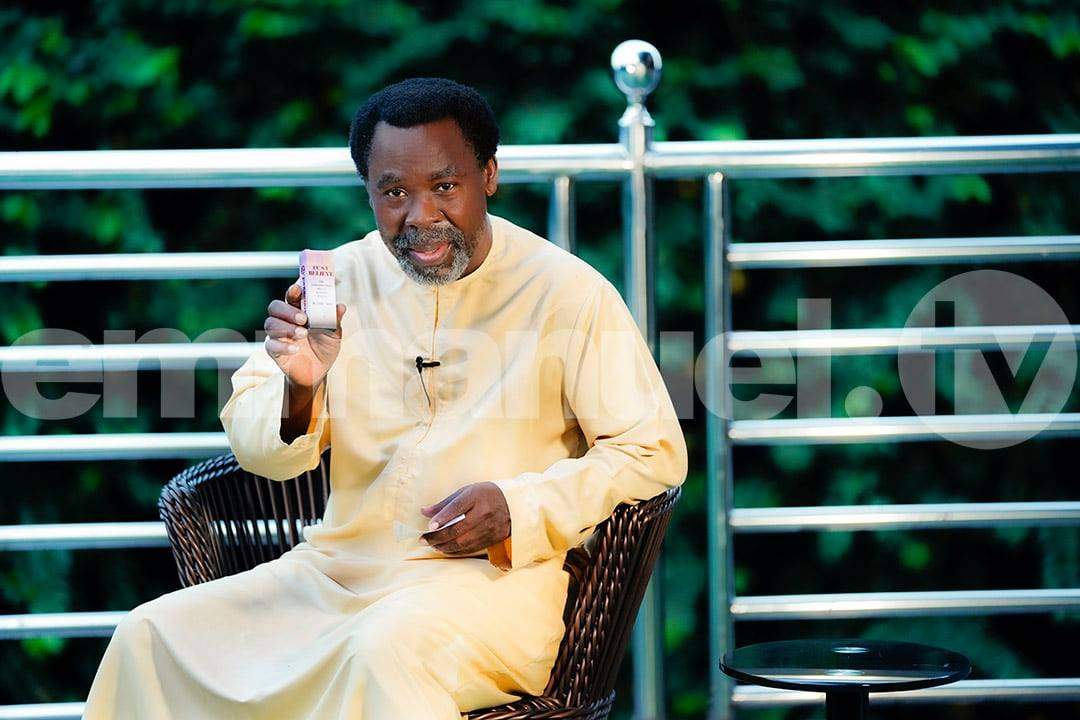 'This year is planting a seed that will be harvested next year,' T.B Joshua prophesies
