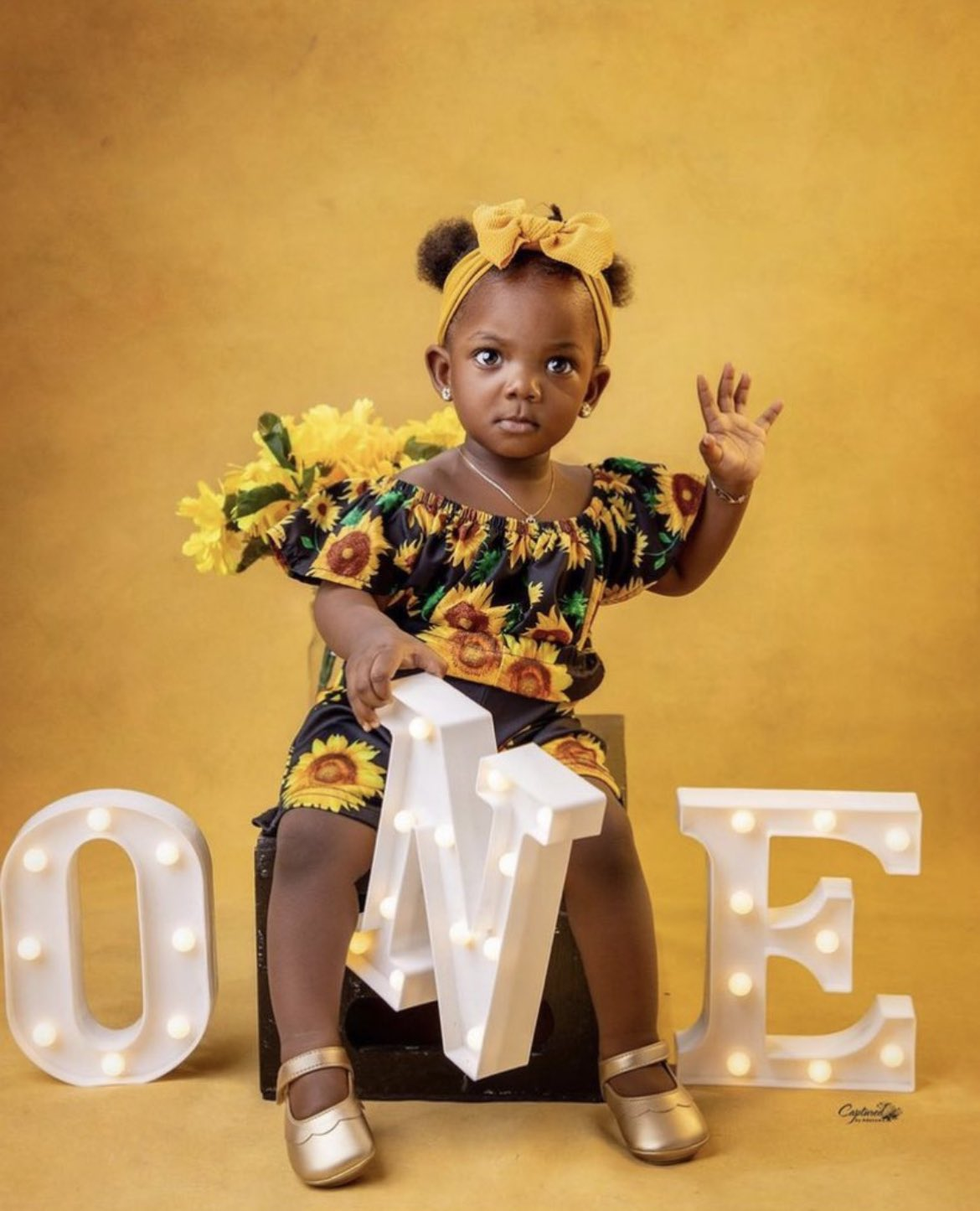 'Simi's baby looks like she doesn't take nonsense from anybody,' fans react as Simi's daughter turns one