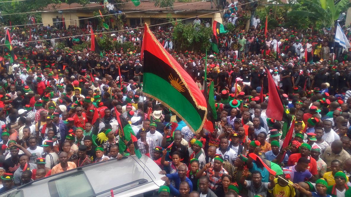 (In videos) Nigeria: Southeastern states comply with IPOB's sit-at-home order