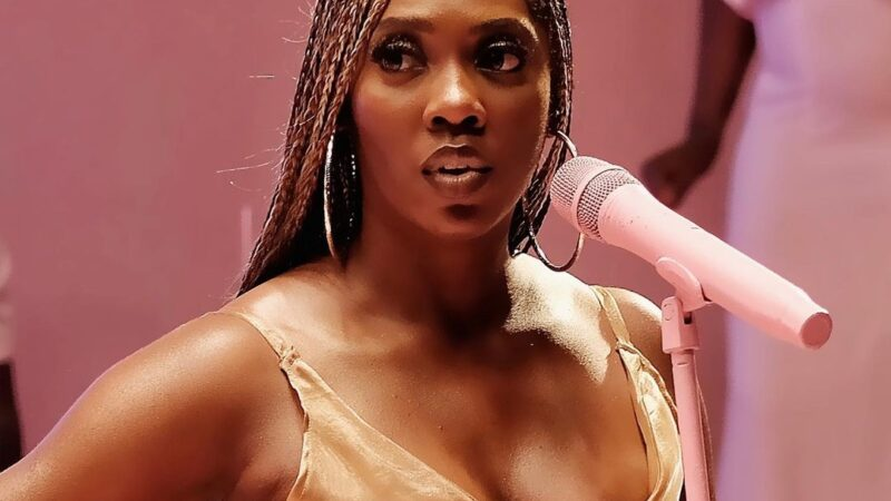 Tiwa Savage sets Instagram on fire with stunning waterfalls photos